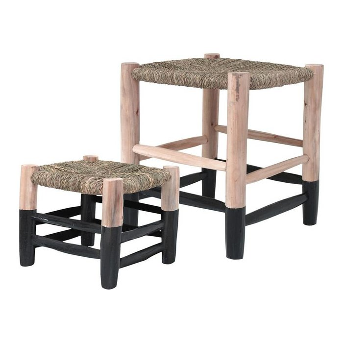 Moroccan Stool Black L
