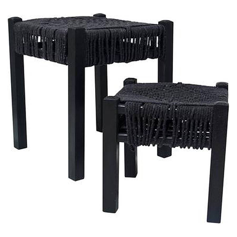 Knotted Rope Stool L