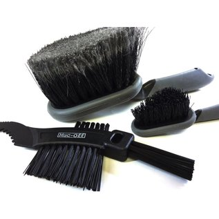Muc Off Muc-Off 3 Piece Brush Set