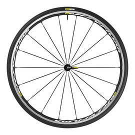 Mavic Mavic 2017 Ksyrium Elite Wheels Shimano 25c Pair White