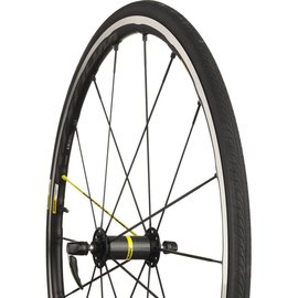 Mavic Mavic 2017 Ksyrium Pro Wheels Shimano 25c Pair Yellow Spoke