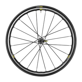 Mavic Mavic 2018 Ksyrium Elite Road Wheels UST Tubeless Shimano 25c Tyre Graphite Black Pair