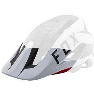 Fox Fox Metah Peak Visor Flow White/Black/Red