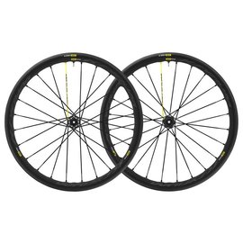 Mavic Mavic Ksyrium Pro Disc UST Tubeless Road Wheels 12x142 Centre Lock 25c Tyres Shimano  Pair