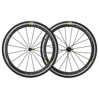 Mavic Mavic Cosmic Pro Carbon Wheels Shimano Pair Black Decals