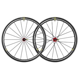 Mavic Mavic 2018 Ksyrium Elite Road Wheels UST Tubeless Shimano 25c Tyre Red Pair