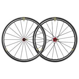 Mavic Mavic 2019 Ksyrium Elite Road Wheels UST Tubeless Shimano 25c Tyre Red Pair