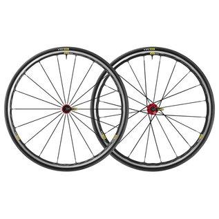 Mavic Mavic 2018 Ksyrium Elite Road Wheels UST Tubeless Shimano 25c Tyre Red Pair