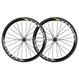 Mavic Mavic 2018 Cosmic Elite Disc Road Wheels UST Tubeless Shimano Centre Lock 12mm 25c Tyre Black Pair