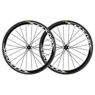 Mavic Mavic 2018 Cosmic Elite Disc Road Wheels UST Tubeless Shimano Centre Lock 12mm 25c Tyre Black Pair