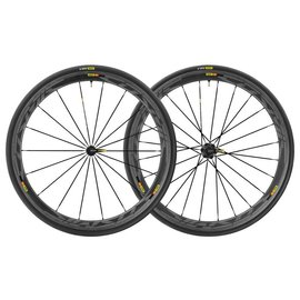 Mavic Mavic 2018 Cosmic Pro Carbon SL Road Wheels UST Tubeless Shimano 25c Tyres Pair