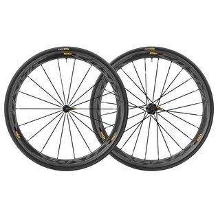 Mavic Mavic 2018 Cosmic Pro Carbon SL Road Wheels UST Tubeless Shimano 25c Tyres Pair