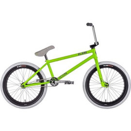 Blank BMX Blank Icon BMX Bike Matte Lime Green