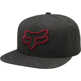 Fox Fox SP18 Instill Snapback Hat Heather Black