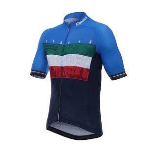 Santini Santini Emblem Short Sleeve Jersey