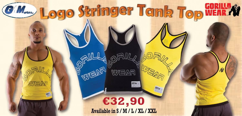Gorilla Wear Logo Stringer Tanktop
