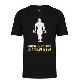 Gold's Gym Stronger than yesterday T-shirt - Black
