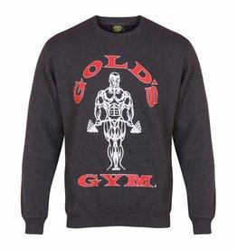 Gold's Gym Muscle Joe sweater - Charcoal marl