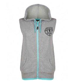 Gold's Gym Muscle Joe sleeveless hoodie - Grey