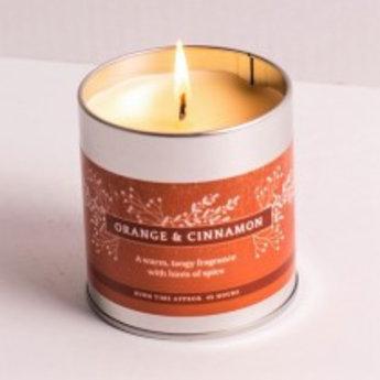 St Eval St Eval Christmas Orange & Cinnamon Geurkaars in Blikje