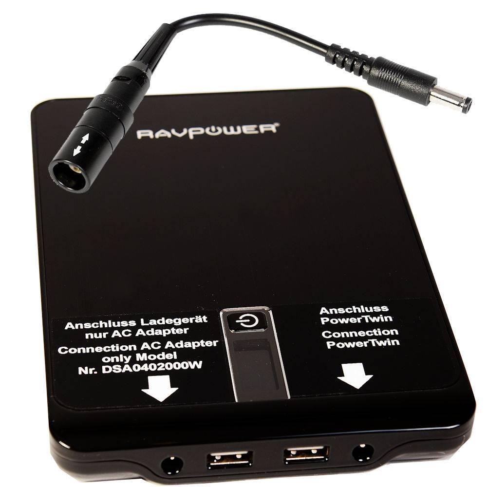 PowerBank für Laserdusche PowerTwin21