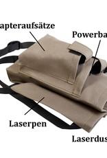 MKW Lasersystem Beintasche für den mobilen Einsatz vor Ort