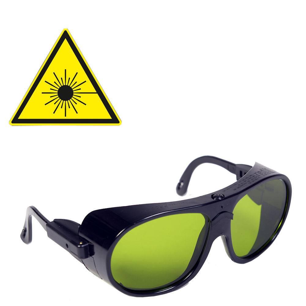 Protect Laserschutzbrille für med. Laser Klasse 3B - für Brillenträger