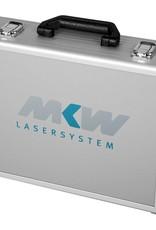 mit Schaumstoffeinsätzen für Lasergeräte