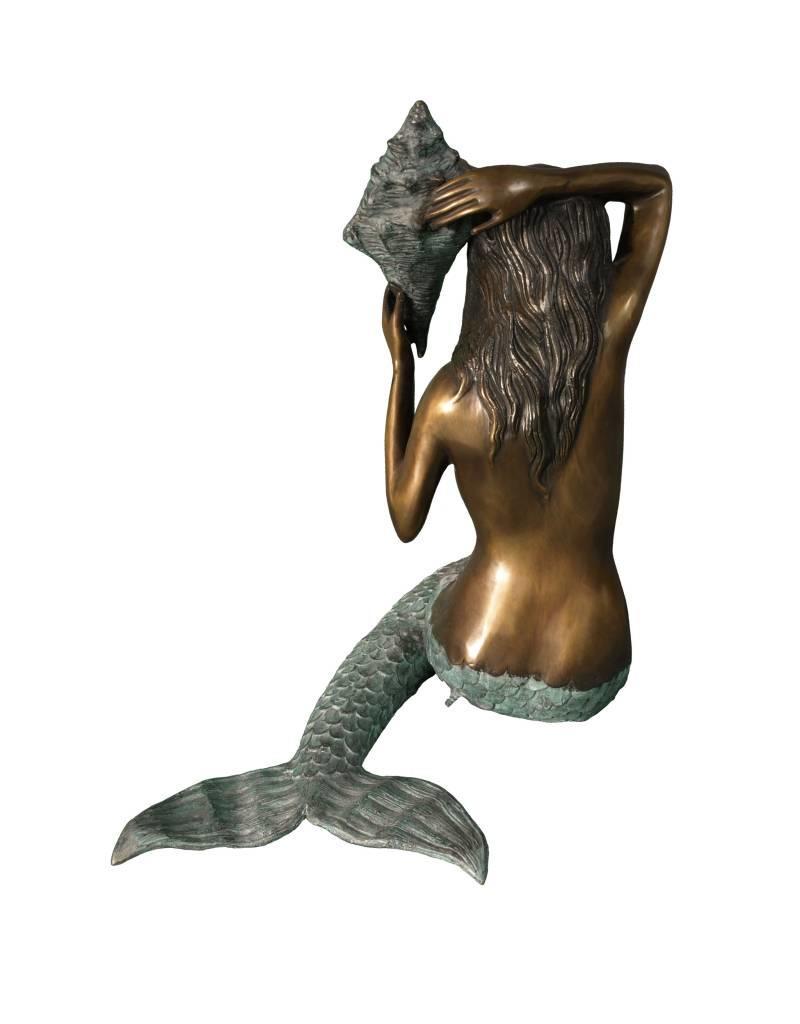 Petite Sirene - Sitzende Meerjungfrau