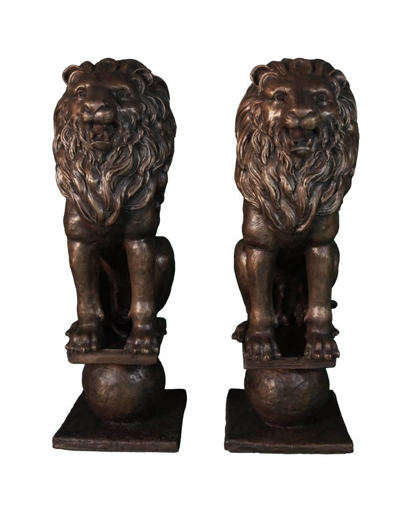 Circum Mios Duett – Löwenpaar Torwächter