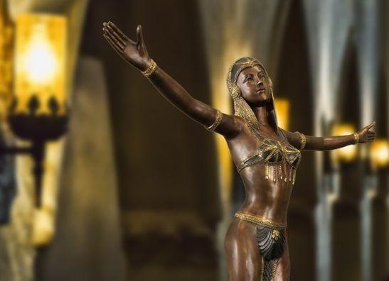 Bronzeskulpturen