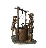 Tractus – Ziehbrunnen mit zwei Kindern