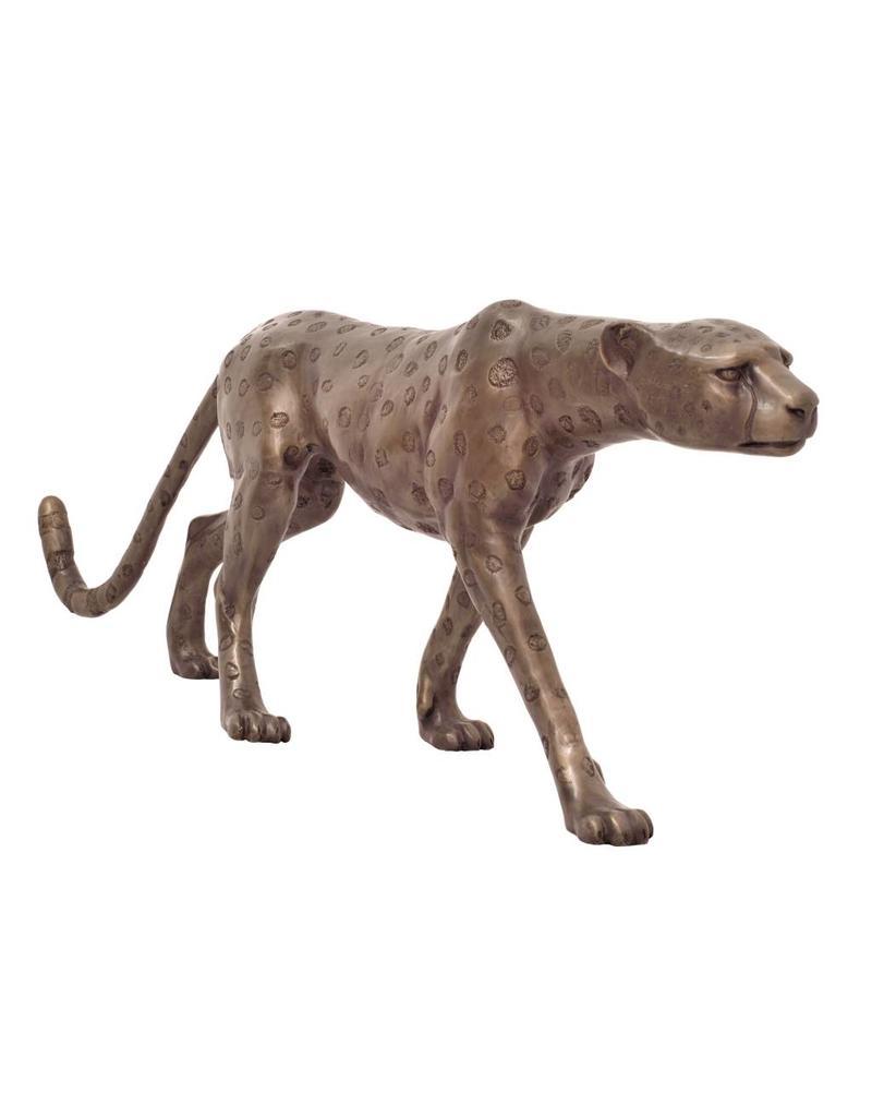 Grande Aristea – Bronzeskulptur Gepard