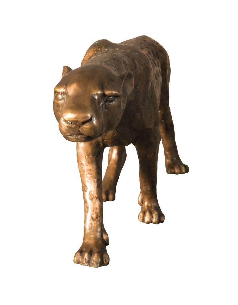 Moyenne Aristea – Bronzeskulptur Gepard