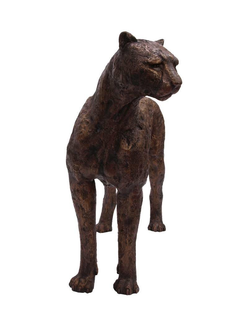 Aristeas – Lebensgroße Bronzeskulptur eines Gepards