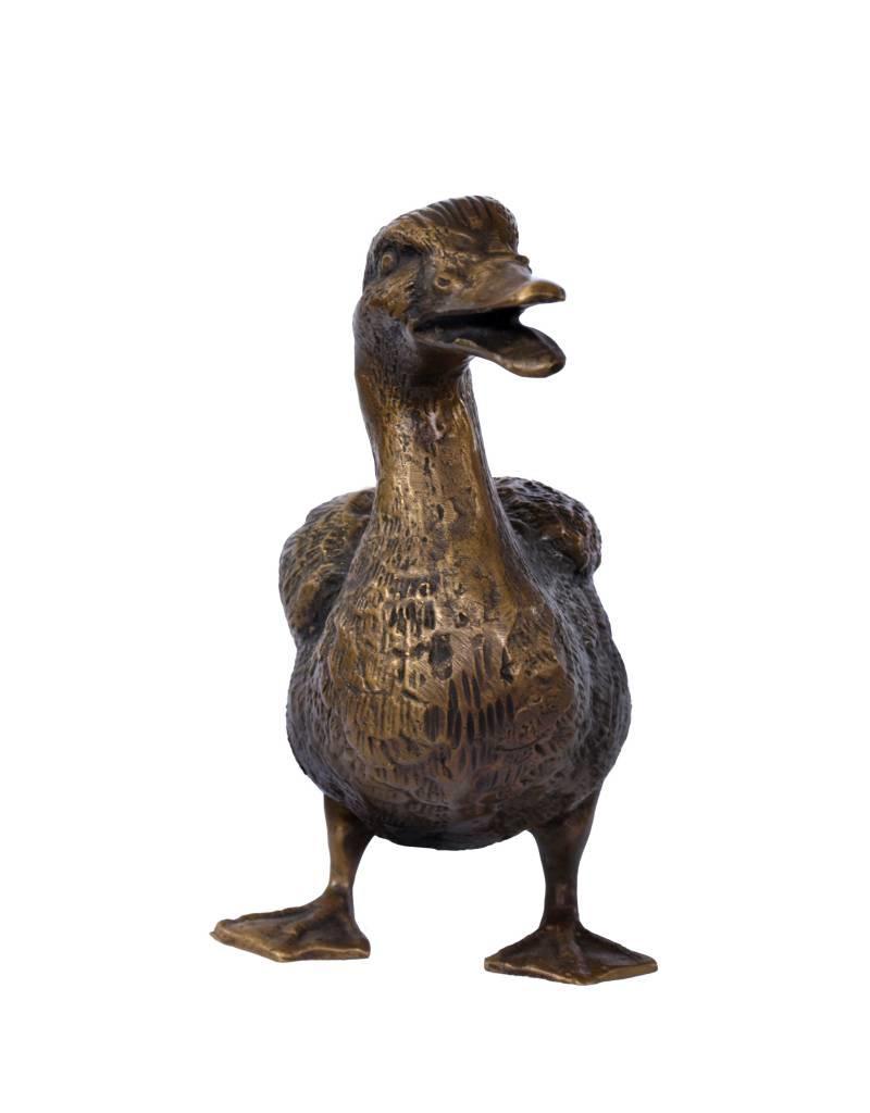 Mallard – Skulptur einer Ente