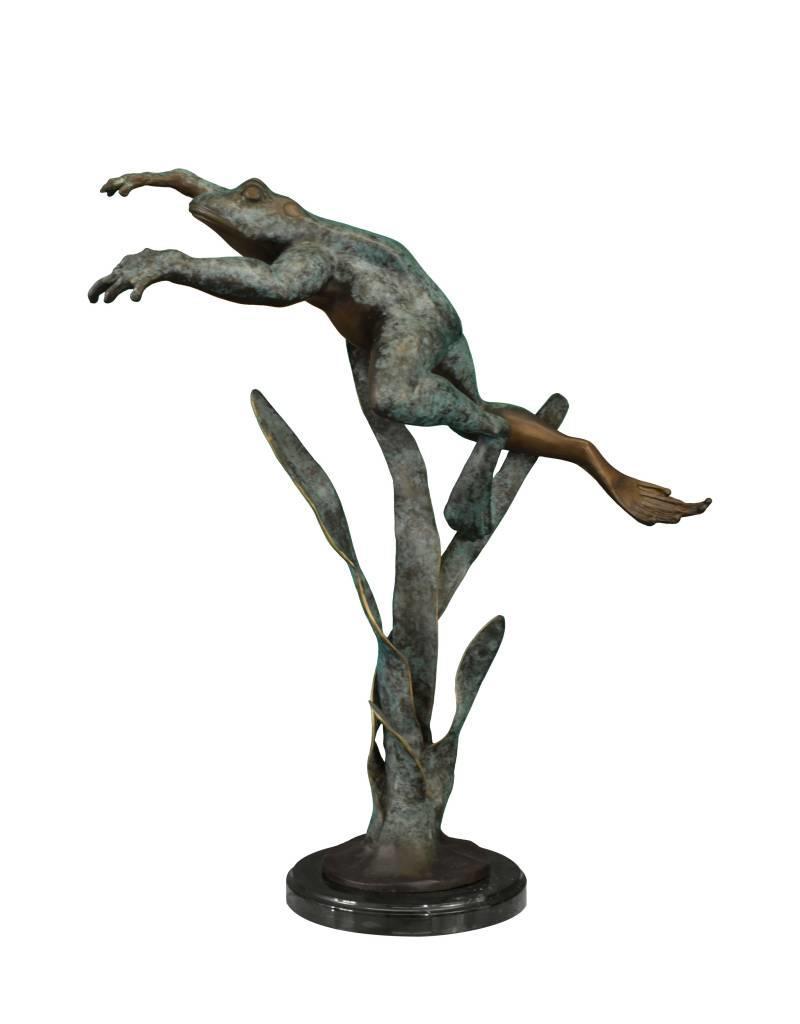 Heket I – Bronzeskulptur eines Frosches