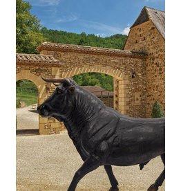 Taurus Moyen – Stierskulptur