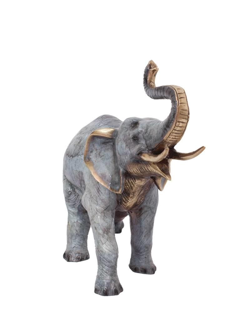 Petit Makari – Designer Elefant Bronzeskulptur