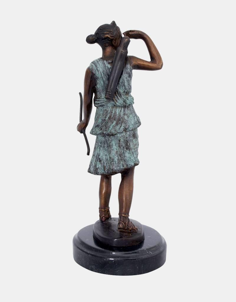 Diana – Bronzefigur Göttin der Jagd