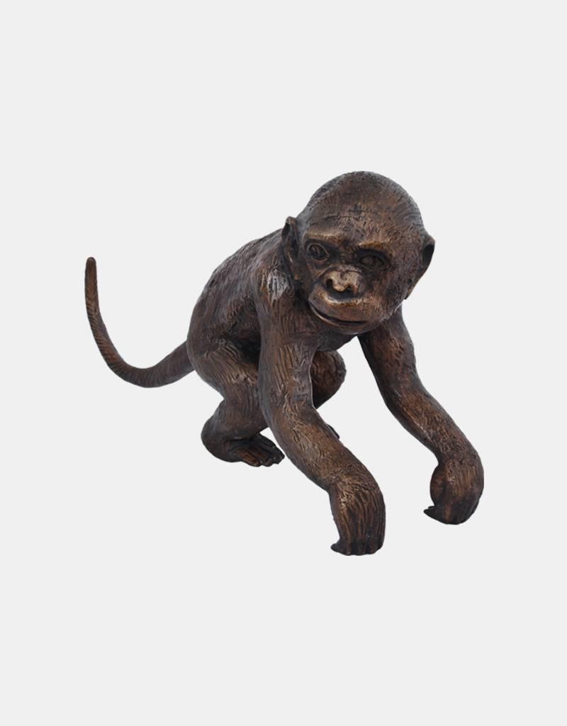 Ateles I – Bronzefigur eines Affen (rechts)
