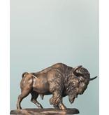 Bonasus - Bronzefigur Bison