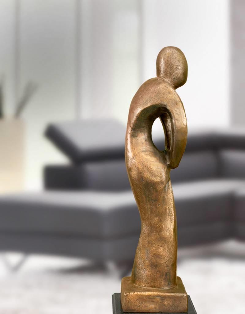 Afiri - Abstrakte Bronzeskulptur