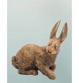 Leporis - Niedliche lebensgroße Hasenskulptur