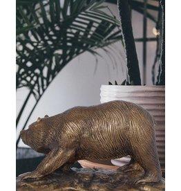 Petz – Bronzefigur eines Bären