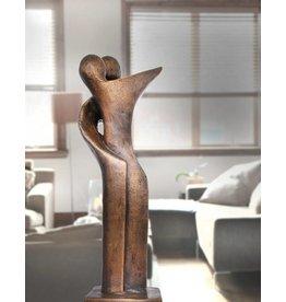Modern Duett – Abstrakte Bronzefigur