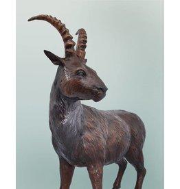 Junger Norwin – Steinbock Bronzefigur
