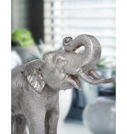 Petit Makari – Silberfarbene Elefantenfigur