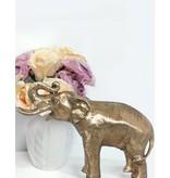 Petit Makari  – Goldfarbene Elefantenfigur