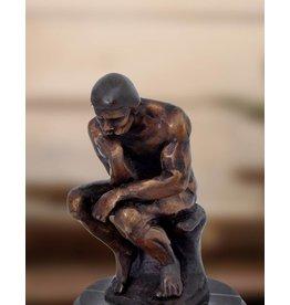 Der Denker – Kleine Bronzeskulptur